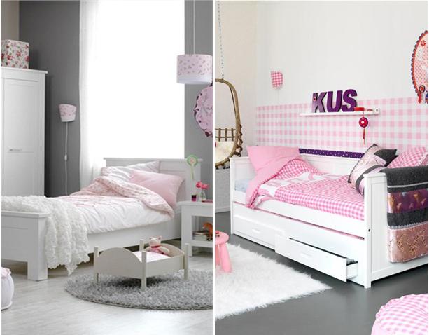 Meisjeskamer meisjesbedden l kinderkamers l girlslabel - Slaapkamer van een meisje ...