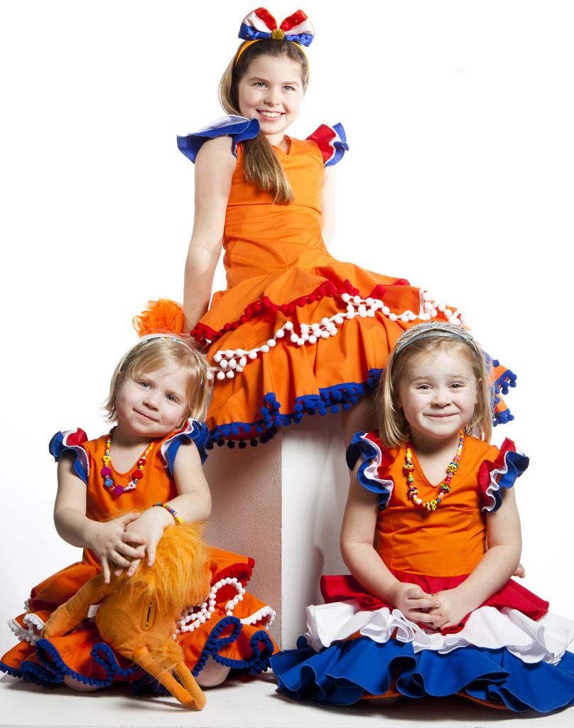Hollands Meisje, koninginnedag, verkleedkleding, spaanse jurk, flamencojurk