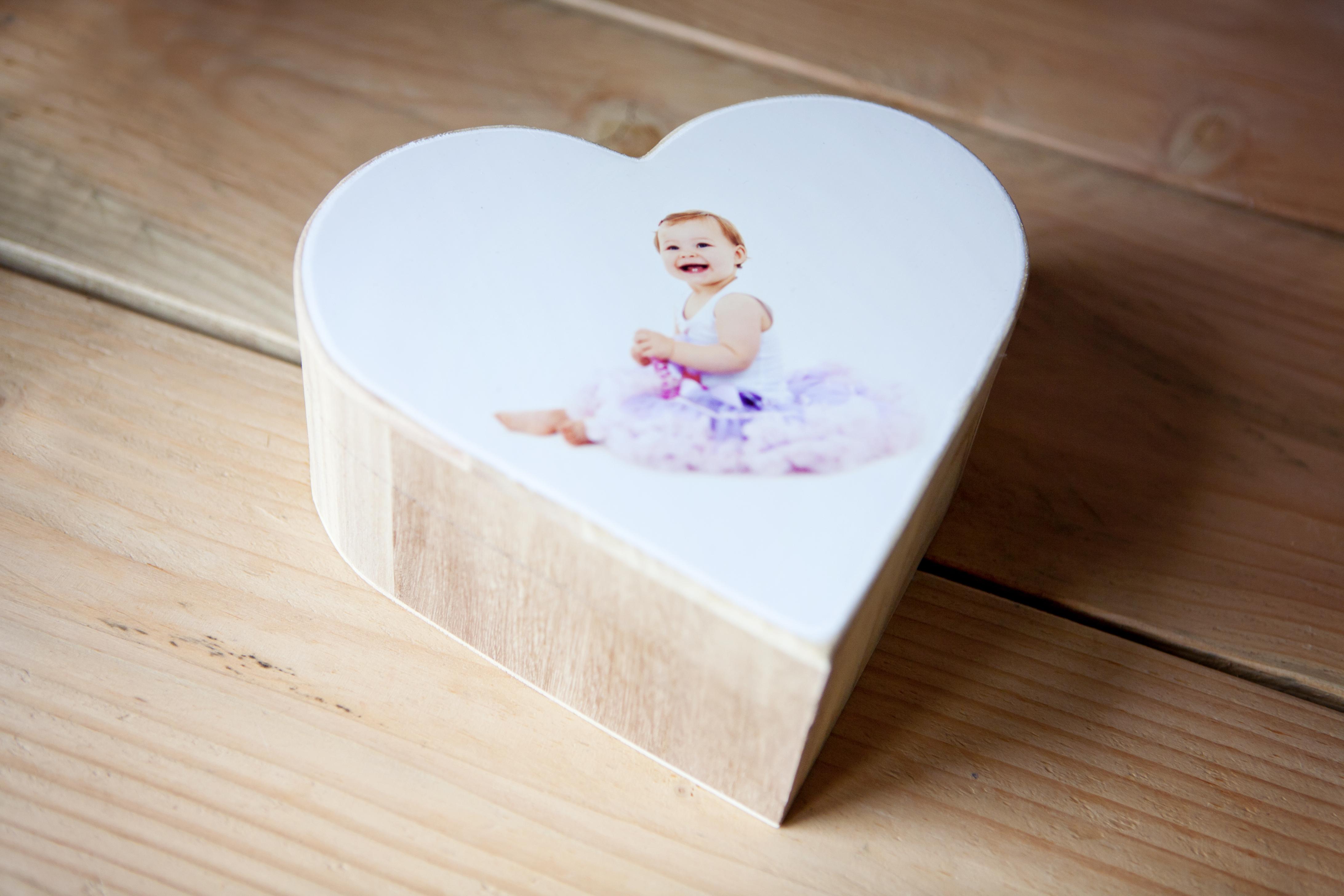 Wooden blocks l houten fotoblok l girlslabel
