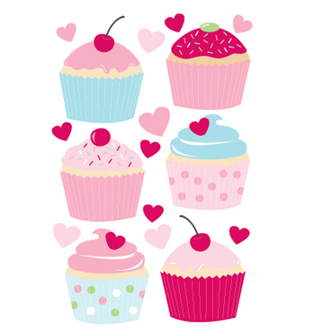 forwalls-muurstickers-cupcakes