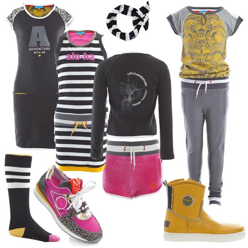 NinniVi, NinniVi meisjeskleding, hippe meisjeskleding, girlslabel, kinderkleding zomer 2016