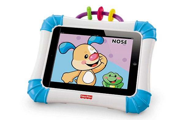 ipad hoes fisher price, korting op fisher price speelgoed