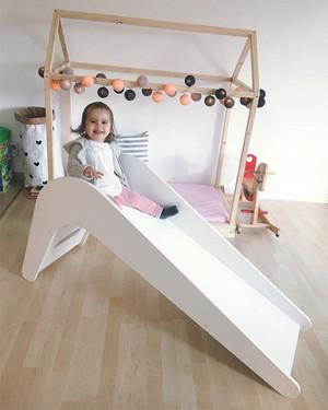 houten glijbaan voor in huis