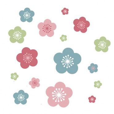 forwalls-muurstickers-lentebloemen-3
