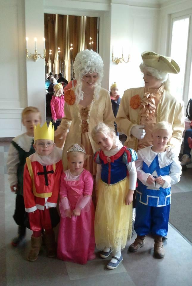 prinsen en prinsessendag paleis het loo