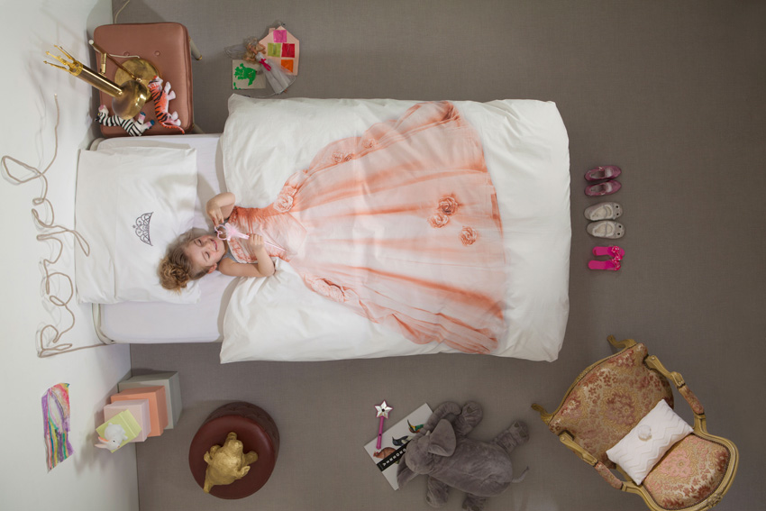snurk beddengoed, prinsessen dekbedovertrek