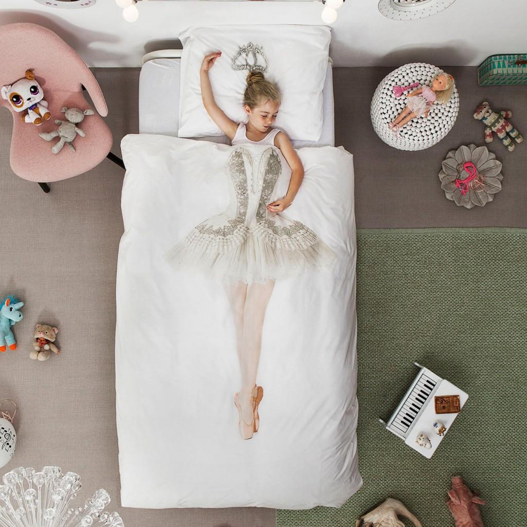 snurk ballerina, ballerina beddengoed, ballerina kamer, meisjeskamer, meisjeskamer voorbeelden, girlslabel