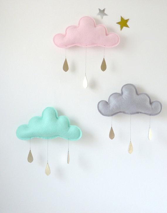 Meisjeskamer idee l 39 in de wolken 39 met deze tips voor een meisjeskamer - Deco ruimte jongensbaby ...