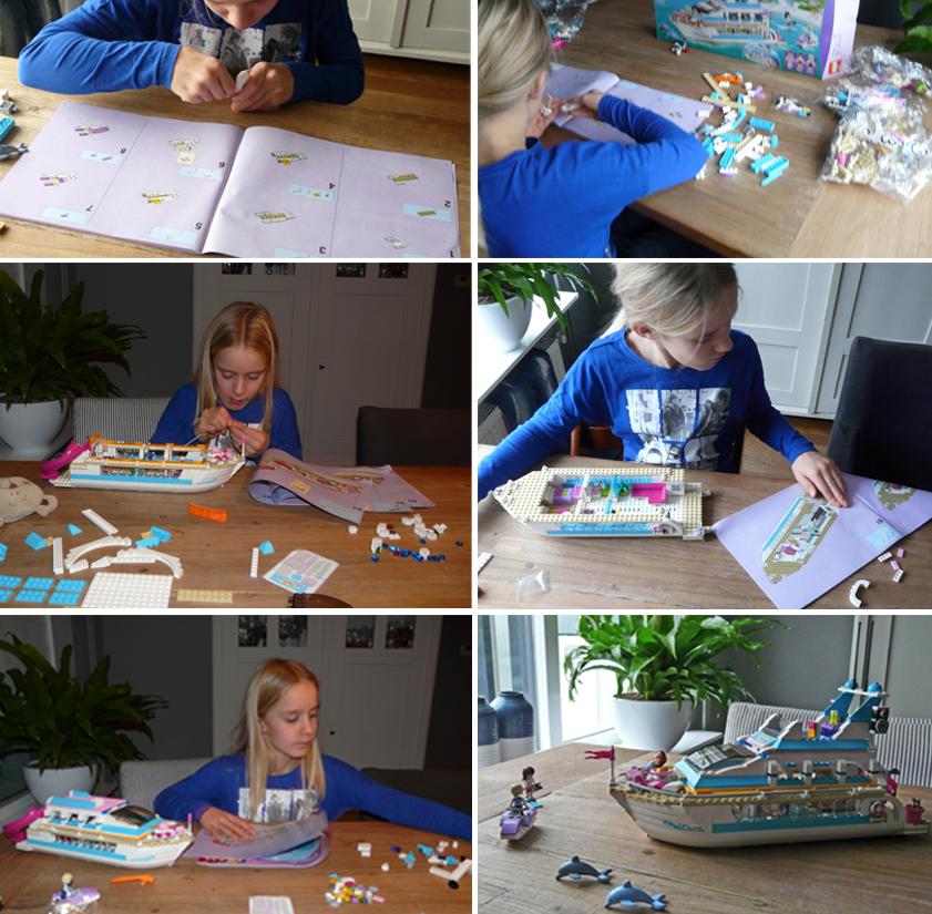 LEGO FRIENDS Review, lego friends dolfijn cruiser, lego review girlslabel