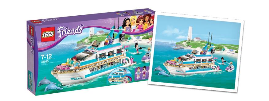 LEGO Friends dolfijn cruiser