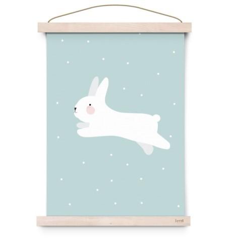 poster-rabbit-meisjeskamer-posters-girlslabel