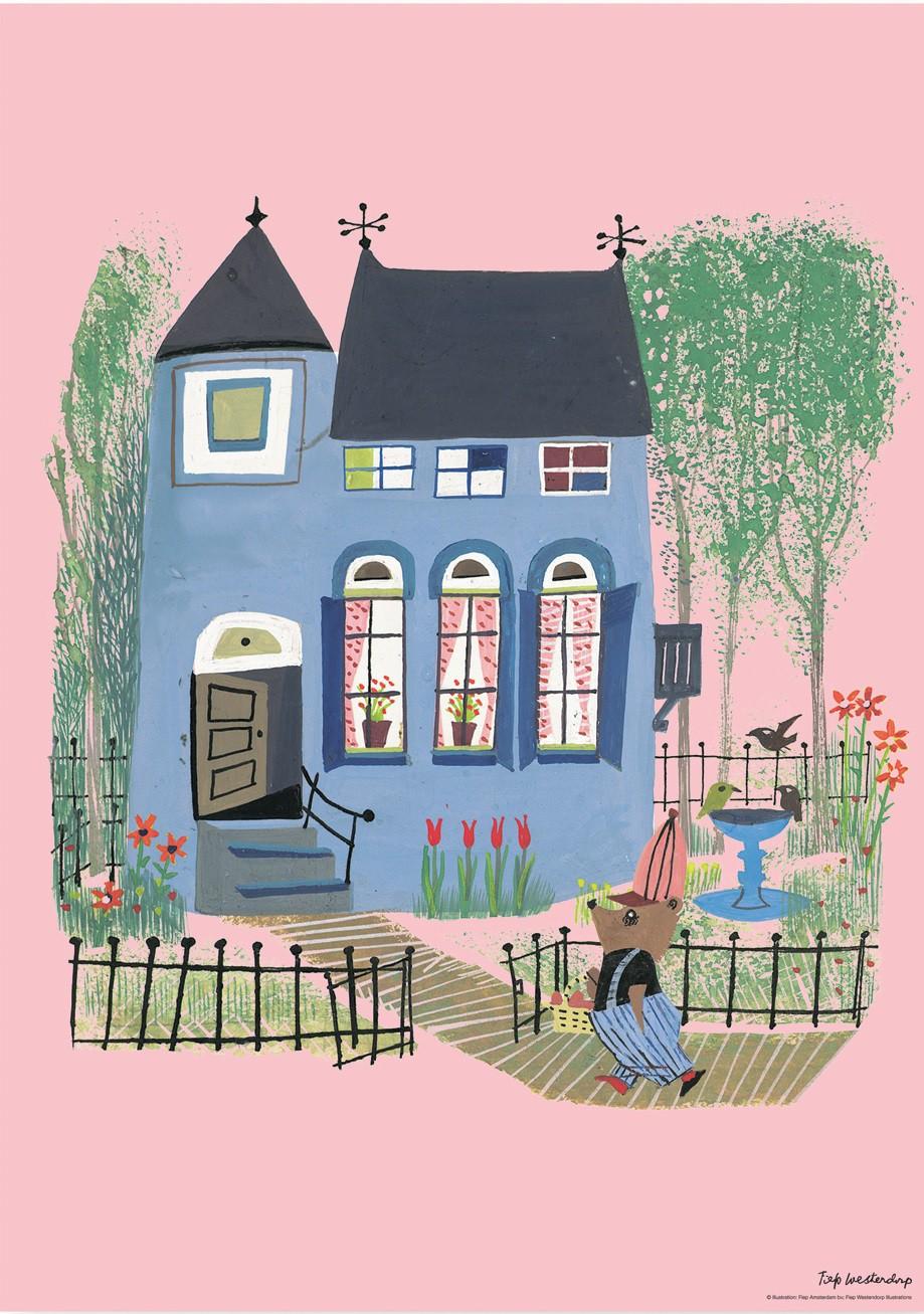 poster_fiep_westendrop_blauw_huis_pink_ps-004