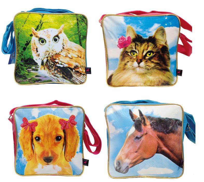 kunstboer tassen, hippe meidentas, tas voor hippe meisjes