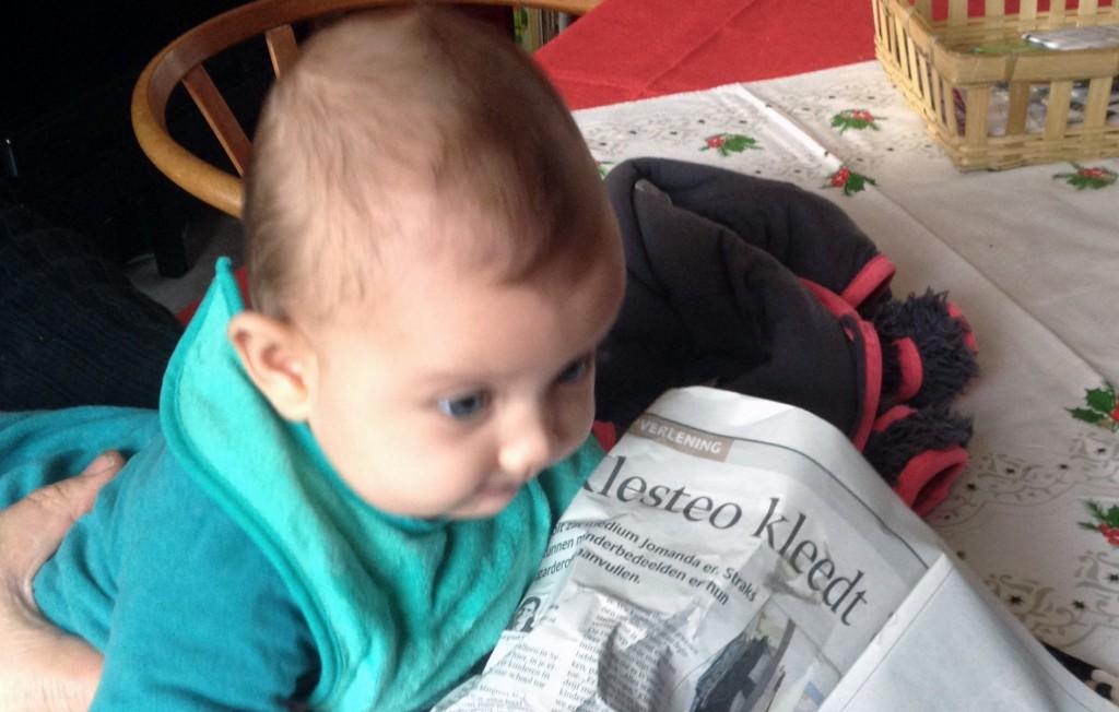 Jippe en krant