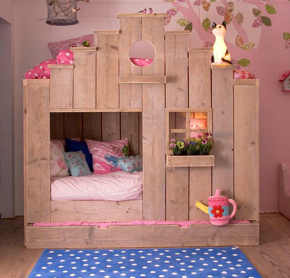 Saartje prum l de mooiste meubels en accessoires voor de kinderkamer - Slaapkamer van een meisje ...