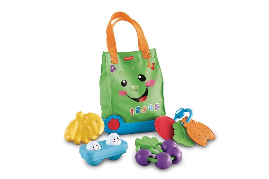 Fisher price boodschappentas, speelgoed voor baby's, speelgoed voor peuters, fisher price speelgoed