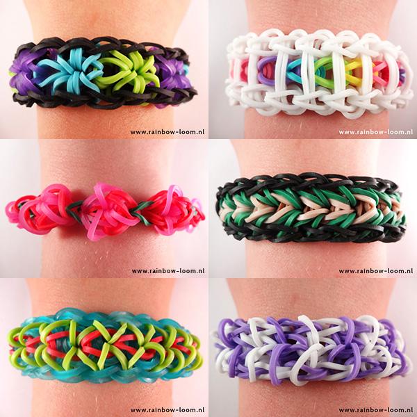 Rainbow-Loom-armband, loom armbandjes en figuren, rainbow-loom.nl, rainbow loom