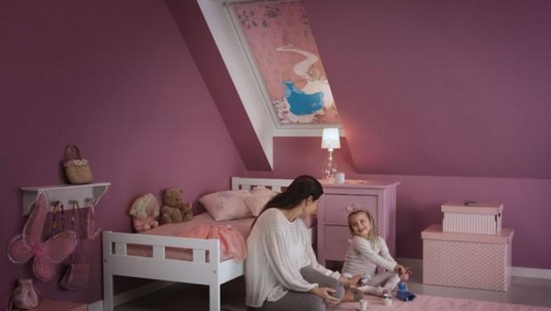 VELUX raamdecoratie l Disney & VELUX Droomcollectie voor kinderkamers