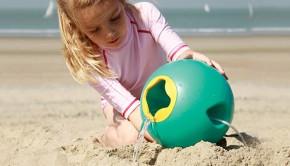Strandspeelgoed, triplet schep, quut beach