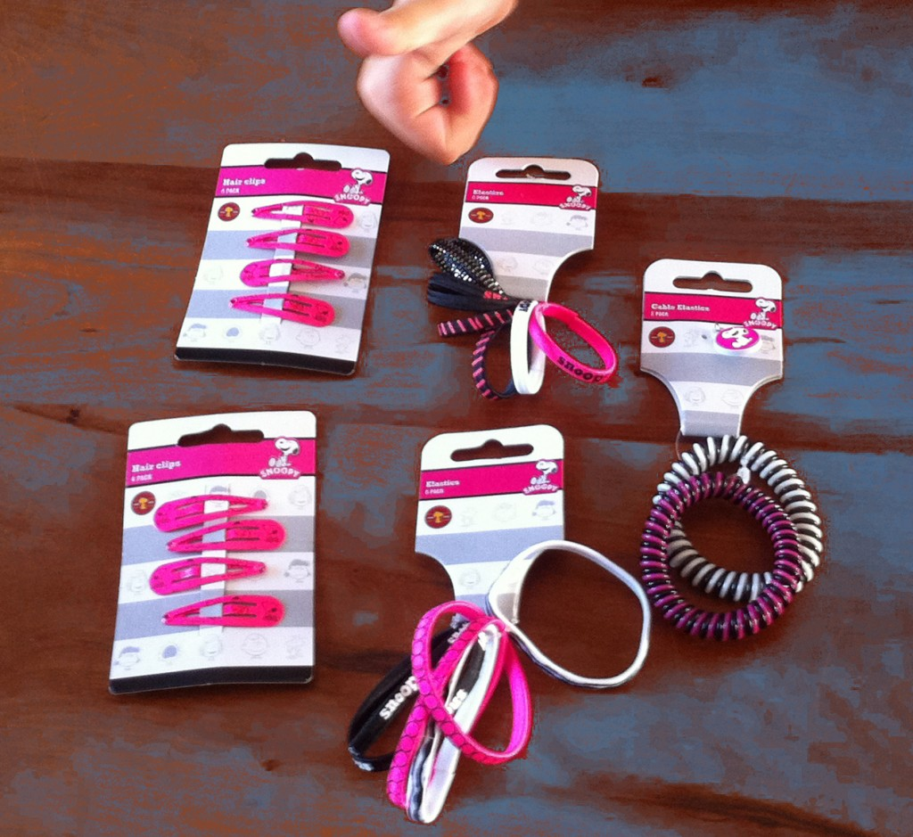 Zenner haarknipjes, Snoopy haarknipjes, haarknipjes voor meisjes, Girlslabel