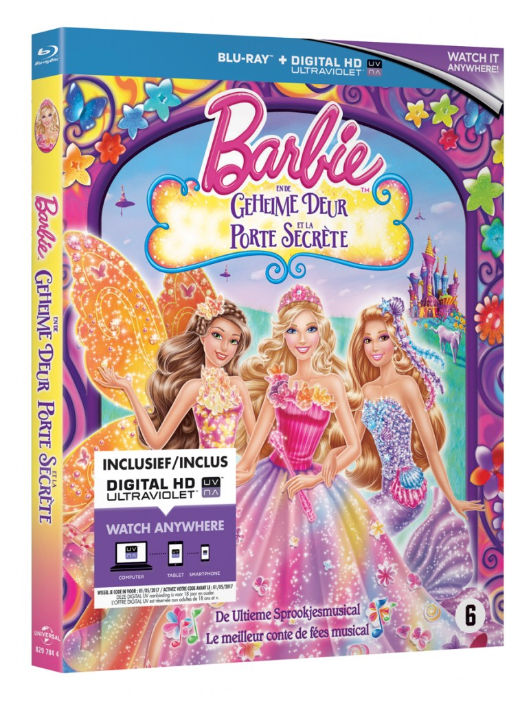 Barbie en de geheime deur, barbie winactie, barbie speelgoed