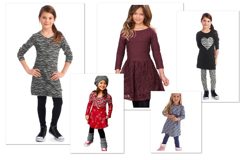 kinderjurken, otto jurkjes, jurkjes voor meisjes