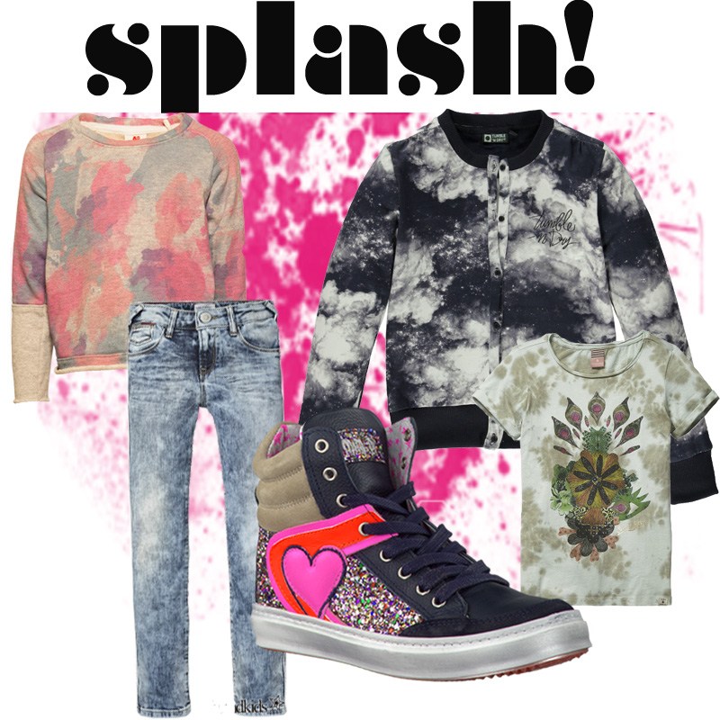 kinderkleding trend splash, girlslabel