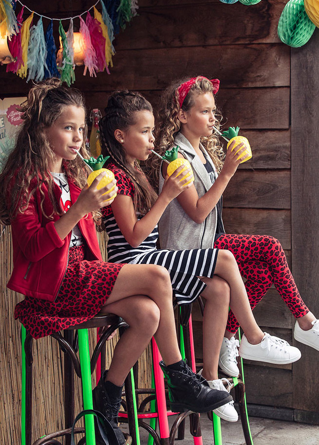Zomer Kinderkleding.Retour Kinderkleding L Stoere Kinderkleding Voor Meisjes Girlslabel