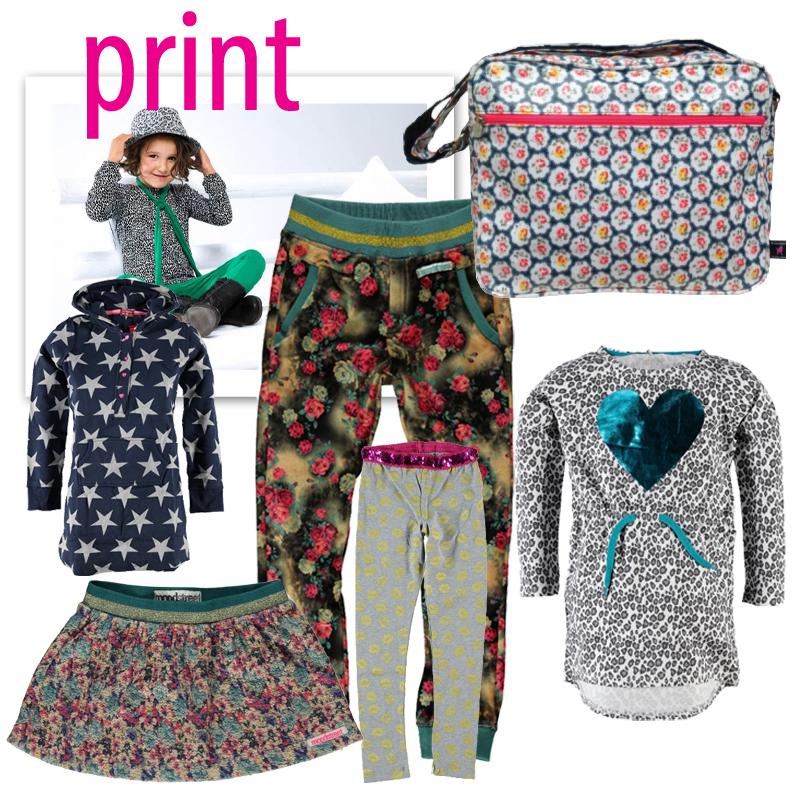 trend print meiden, prints, kinderkleding met prints