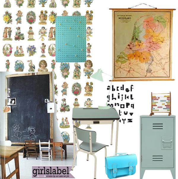 Kleine juffenkamer l meisjeskamer inspiratie styling girlslabel - Kamer kinderstoel ...