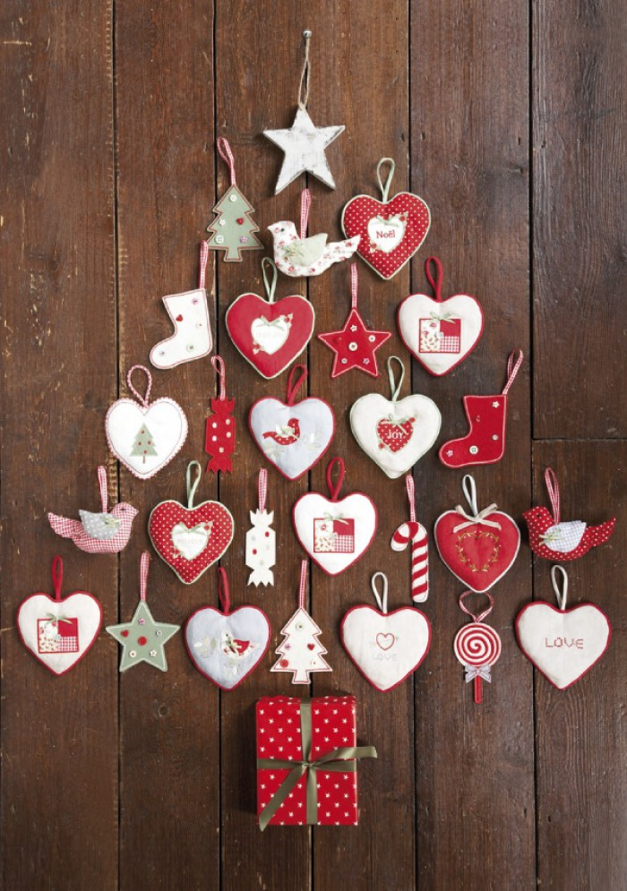 Kerst knutselen met vilt l diy - Decorazioni tumblr ...
