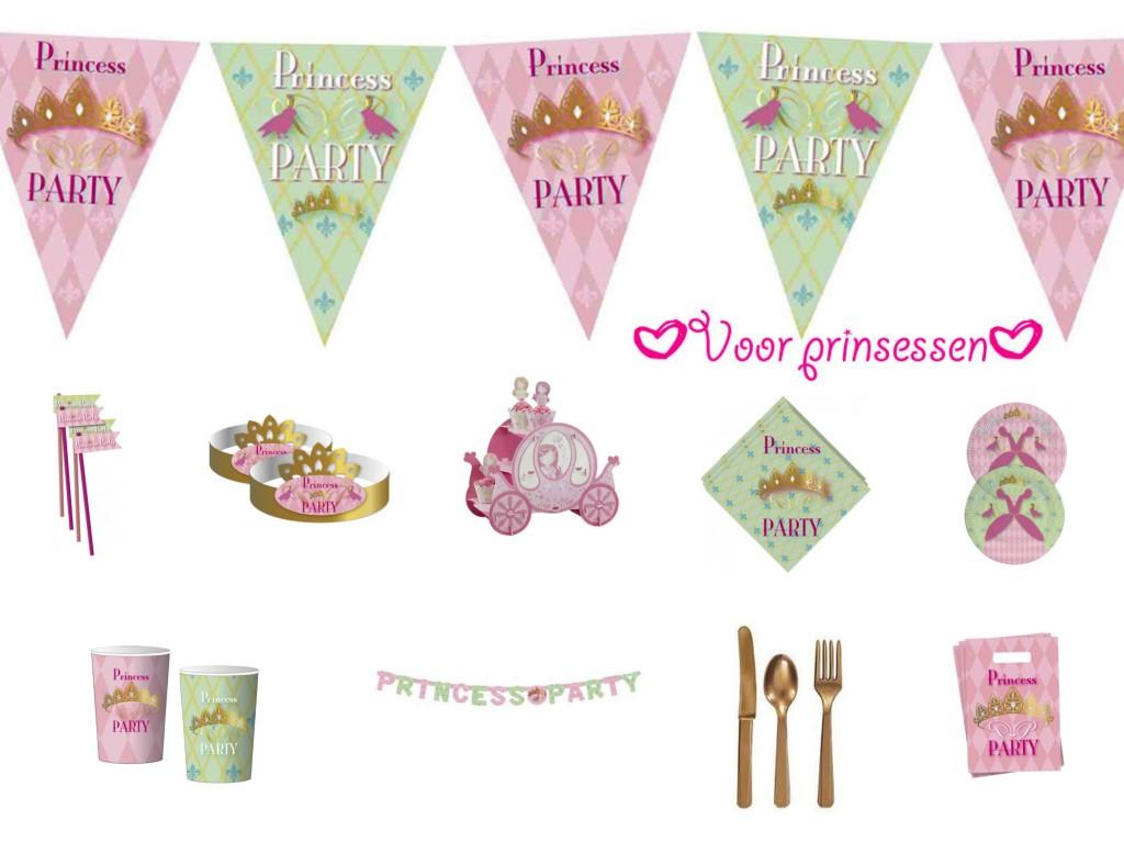 prinsessenfeest, kinderfeestje, meidenfeest, meisjesfeest