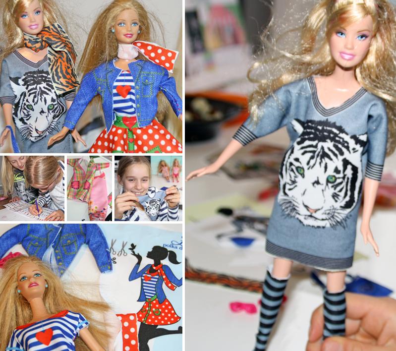 Dress Your Doll, zelf poppenkleertjes maken, poppenkleertjes maken meisjes, barbiekleertjes maken, poppenkleertjes patronen, poppenkleertjes voorbeelden