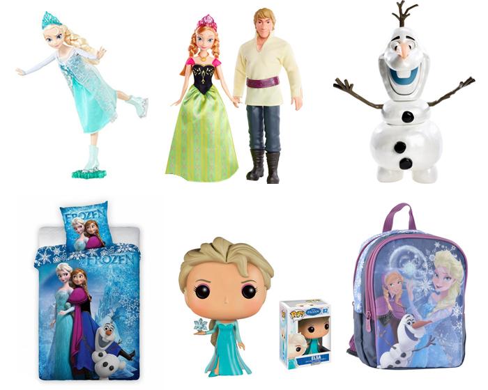 Frozen speelgoed, Frozen poppen, Frozen dekbedovertrek, Frozen rugtassen, Frozen verkleedkleding