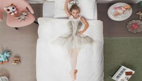 meisjeskamer inspiratie, balletkamer, ballet beddengoed, kinderkamer inspiratie