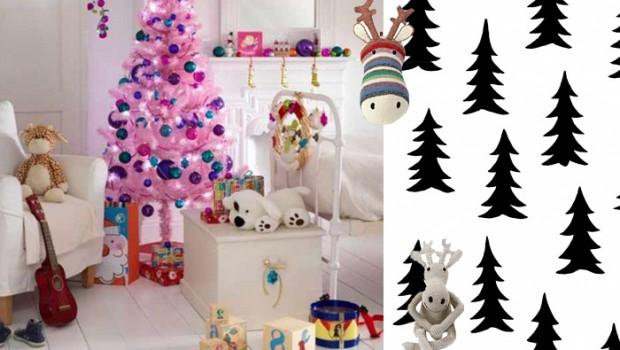 kerst kinderkamer speelzolder
