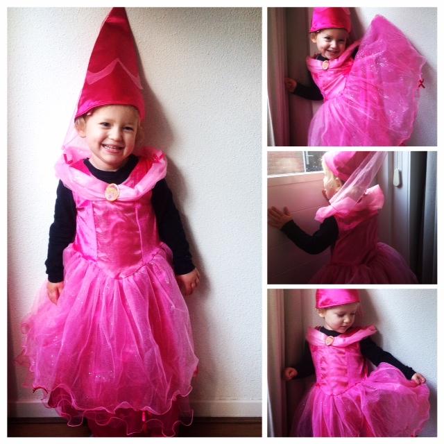 Chloe's Toverkast prinsessenjurk
