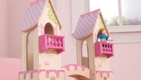 prinsessenkasteel, kidkraft houten poppenhuis, meisjes speelgoed