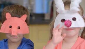 Maskers maken, DIY, knutselen met kinderen