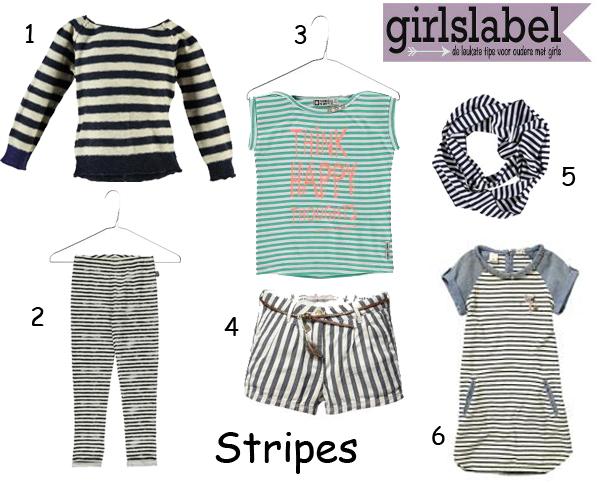 Stripes, zomerkleding voor meisjes, kindermode 2015,