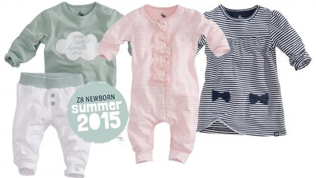 Z8 newborn, z8 babykleding zomer 2015, z8 nieuwe collectie