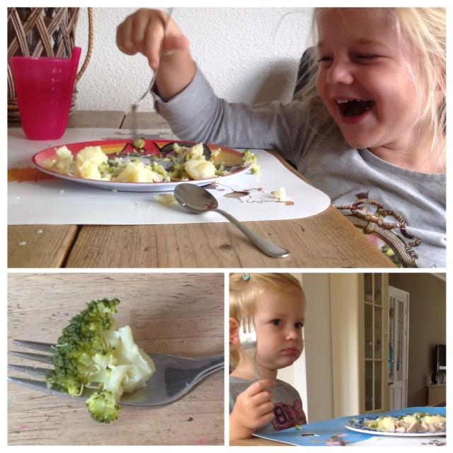 tafelen met kinderen, gezellig aan tafel met kinderen