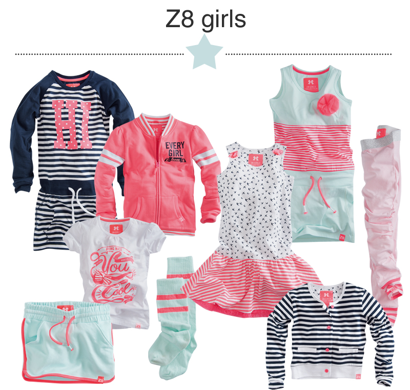 Z8 Kinderkleding.Summer Here We Come Z8 Nieuwe Collectie 2015