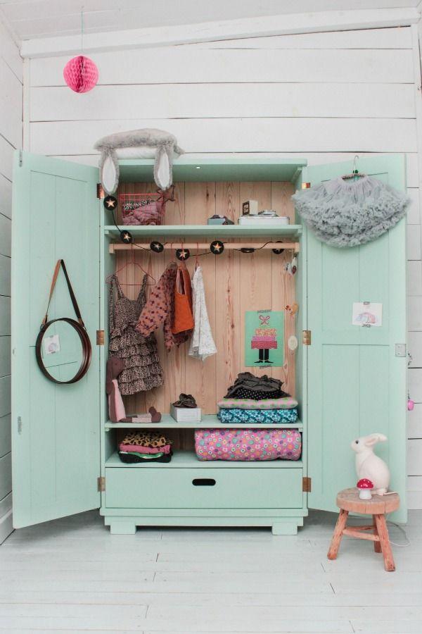 Meisjeskamer mintgroen l kinderkamer inspiratie - Kleur slaapkamer bebe ...