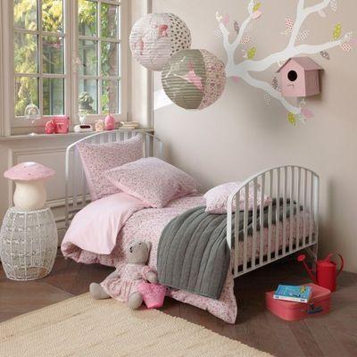 Roze koper op de roze meisjeskamer meisjeskamer inspiratie - Volwassen kamer ideeen ...