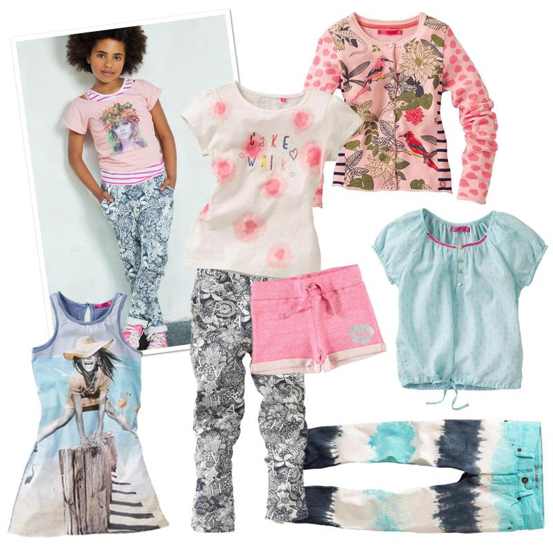 Cakewalk kinderkleding zomer 2015, meisjeskleding, cakewalk online kopen