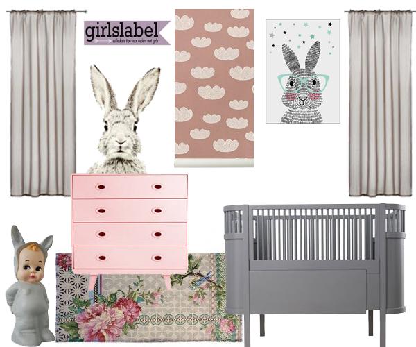Babykamer inspiratie babykamers babylabel - Roze kleine kamer ...