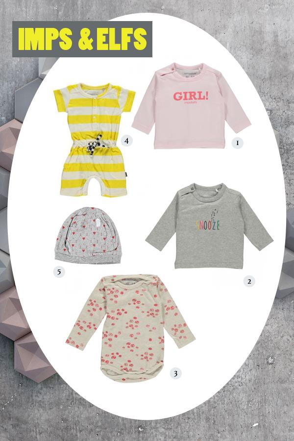 Imps en Elfs nieuwe collectie baby  en kinderkleding