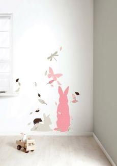 kek amsterdam, voorbeeld roze meisjeskamer, meisjeskamer muurstickers