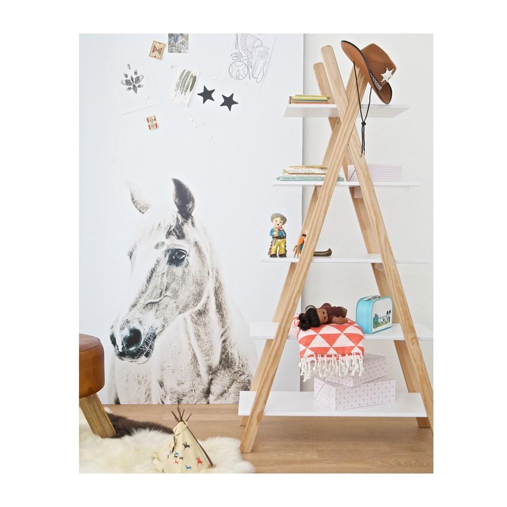 Mooie Kasten kinderkamer - nachtkastjes - boekenkast